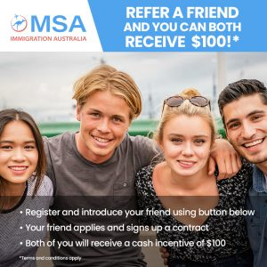 Reer a friend and you can both receive $100